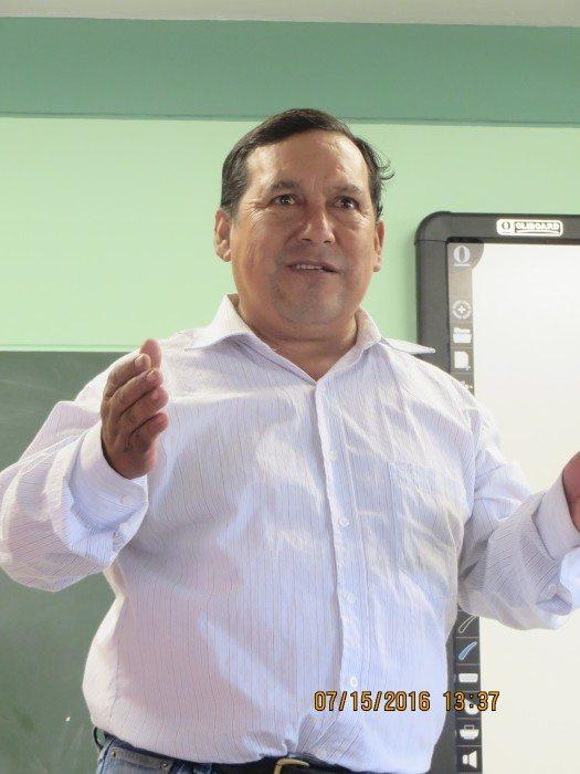 Profesor Pascual Ruiz Resquejo