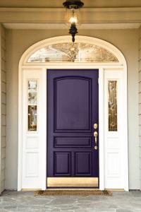 Purple Front Door Color Suggestions   Pretty Purple Door