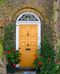 Ten Best Front Door Colours for your House - Maria Killam ...