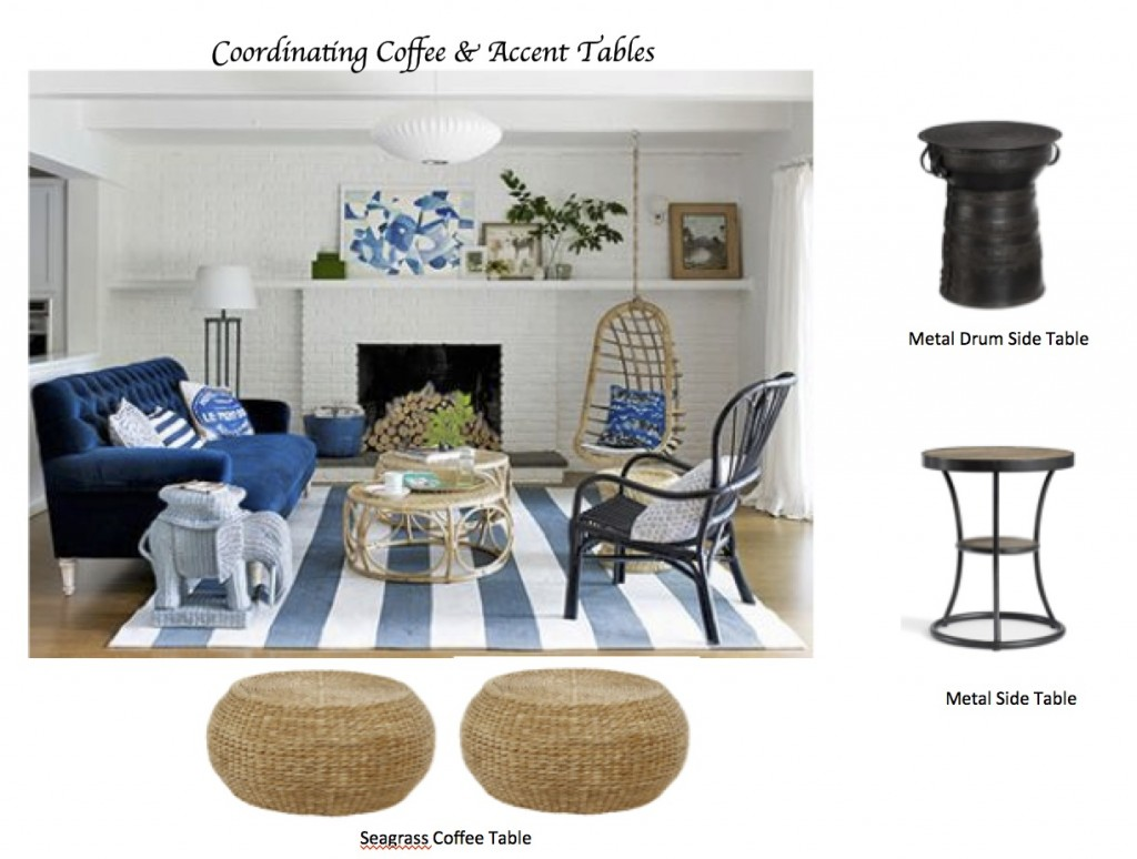 white living room side table where to buy cheap furniture how coordinate coffee accent tables like a designer maria killam