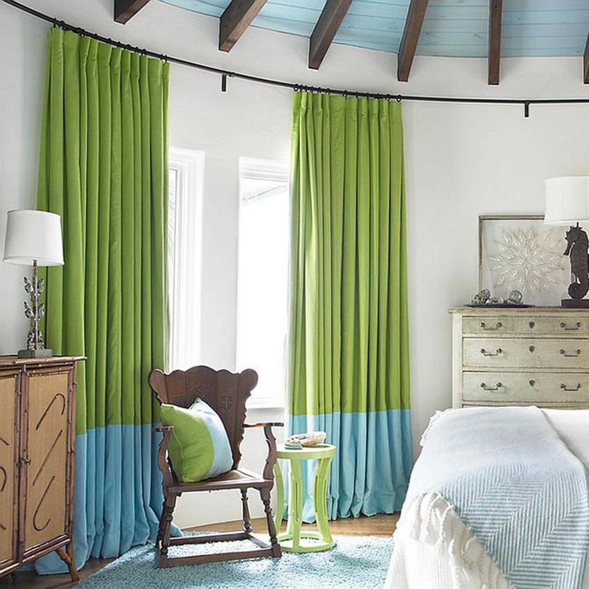 curtain rod colour