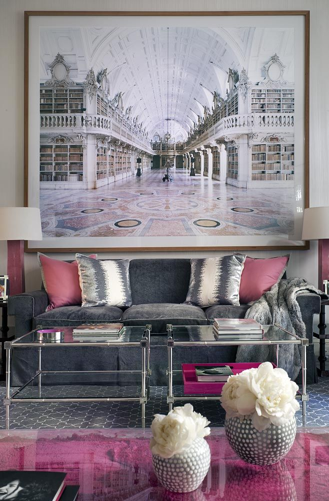 accessorize grey living room cafe rome 4 ways to decorate around your charcoal sofa maria killam the pink