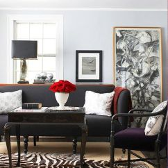 Should Area Rugs Match In Living Room And Dining Pictures Ireland 4 Ways To Decorate Around Your Charcoal Sofa - Maria ...