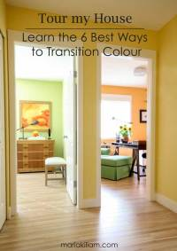 Tour My House: Learn the 6 Best Ways to Transition Colour ...