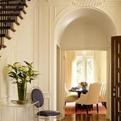 Paint Colors For Living Room With Dark Wood Trim Interior Decorating Ideas Trend Alert: Your Walls And White (or Cream ...