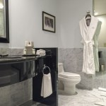 One Carrara Marble Bathroom Four Colours
