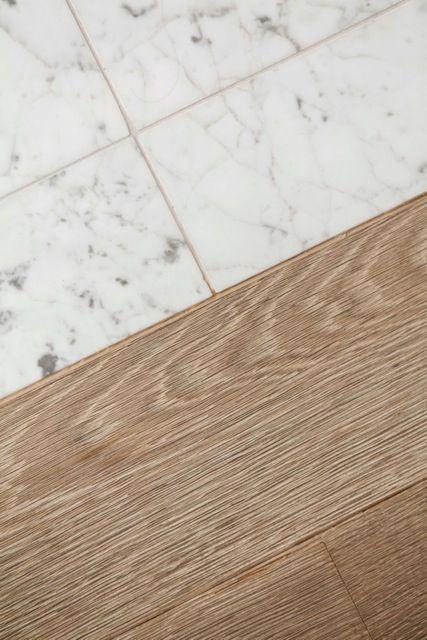 faux hardwood tile with my oak floors