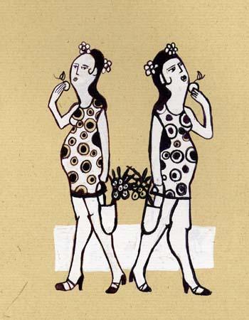 Gemelas Embarazadas - 2003 (100€)