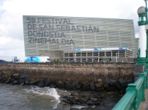 El Kursaal, Palacio de Congreso y sede del Festival de cine de San Sebastián