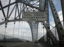 Puente de las Américas, sobre la entrada al canal de Panamá