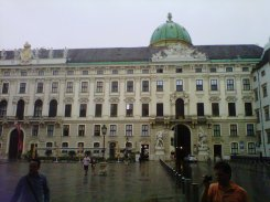 Spring palace of the Habsburg
