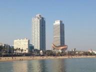 las torres de Barcelona