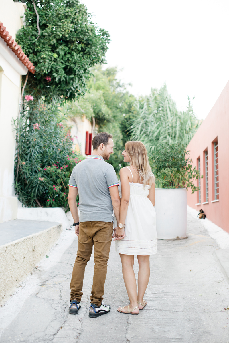 Athens, Greece Engagement photos