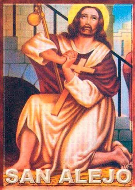Ritual de San Alejo para alejar a una persona