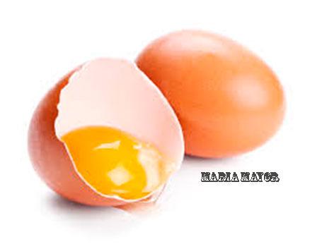 Ritual de limpieza con huevo de gallina.