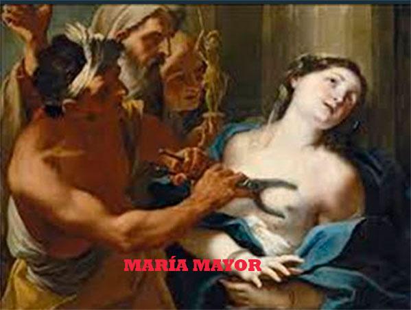 Oración a Santa Águeda para la sanación (Especialmente cáncer de mama).