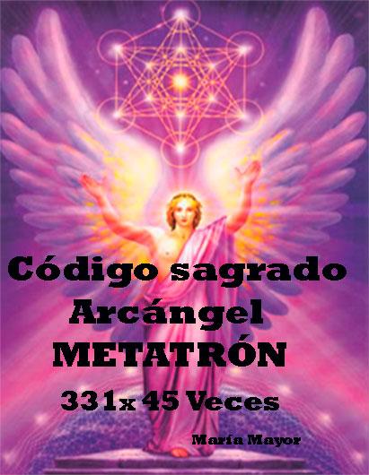 Código sagrado del Arcángel Metatrón.
