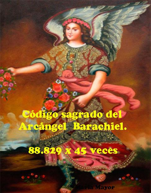 Código Sagrado del Arcángel Barachiel.