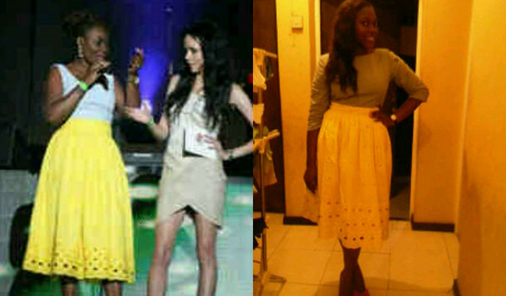 SPOTTED: MariamMoussa at the Hip Hop World Awards(Headies)/Who wore it better? (2/2)