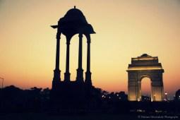 Inde - Arc de triomphe de Delhi