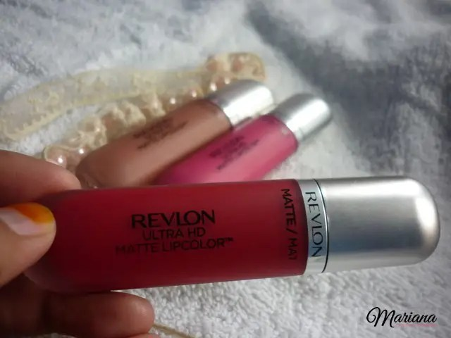 Revlon Ultra HD Matte Lipcolor passion