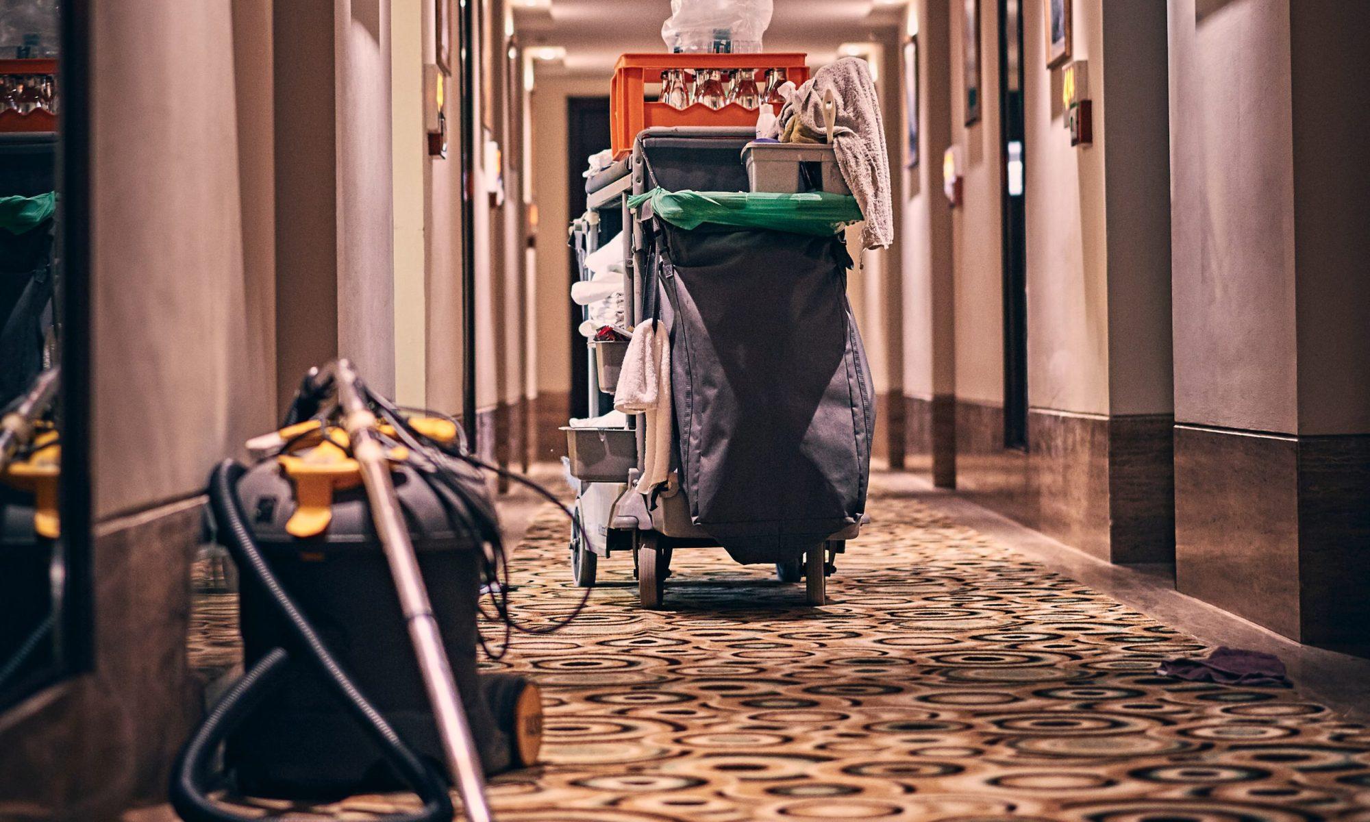 estándares de limpieza para hotelería y gastronomía