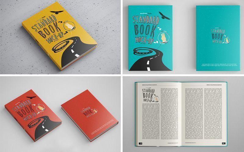 Consigue Estos Bellos Mockups Gratuitos De Libros En