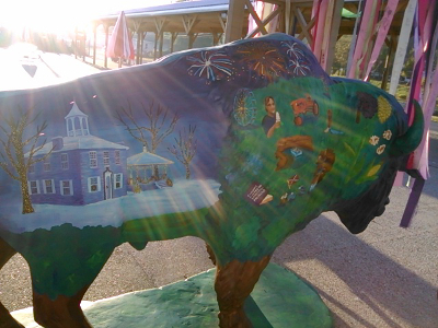First State Capitol building in winter, 4th of July fireworks, and County Fair