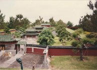 One of the many miniature palaces, temples, pagodas.