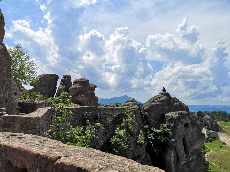 Clouds above Belogradchik Rocks