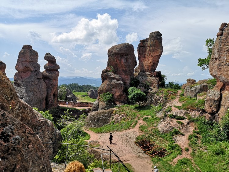 In the middle of Belogradchik Fortress