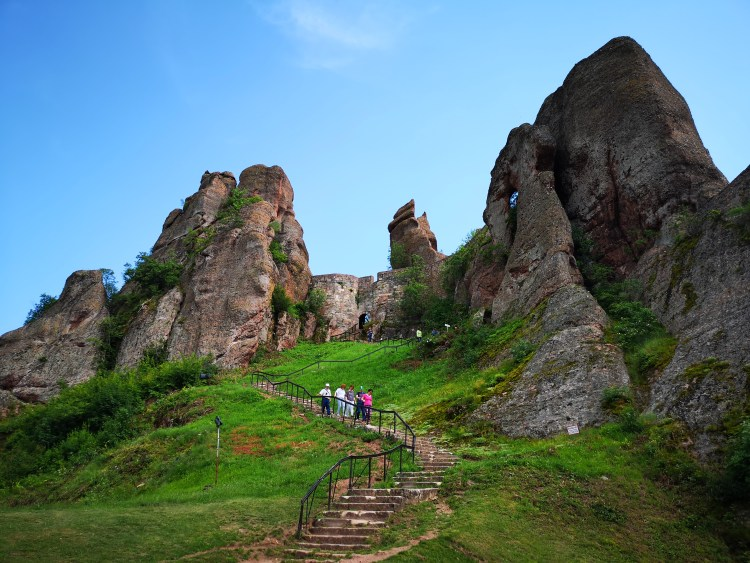 Stairs to Belogradchik Fortress
