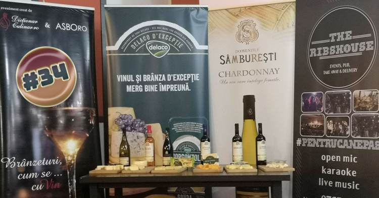 6 tipuri de brânză Delaco, 6 vinuri oltenești