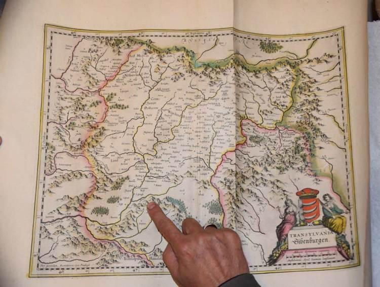 Hunedoara pe hartă