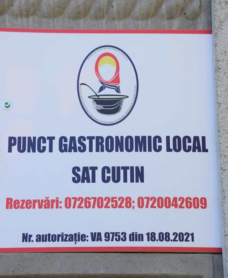 Punct Gastronomic Local sat Cutin