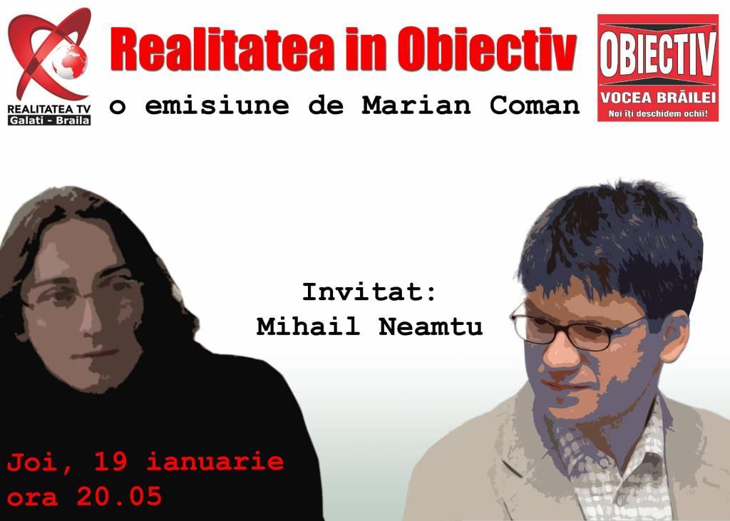 Întâlnire cu Mihail Neamţu