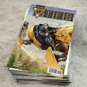 Primul număr al revistei TFB (Tinerețe fără bătrânețe)