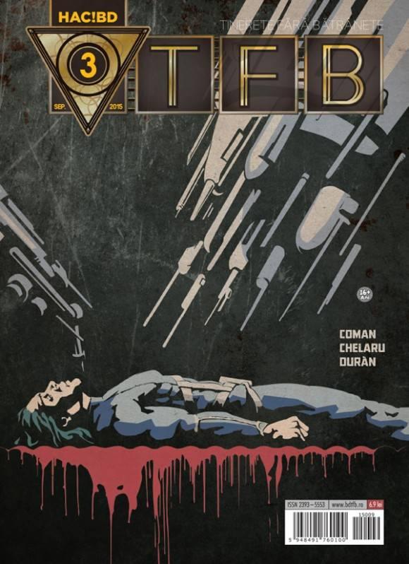 """A apărut al treilea număr al revistei de benzi desenate SF """"Tinerețe fără bătrânețe"""" (comunicat de presă)"""