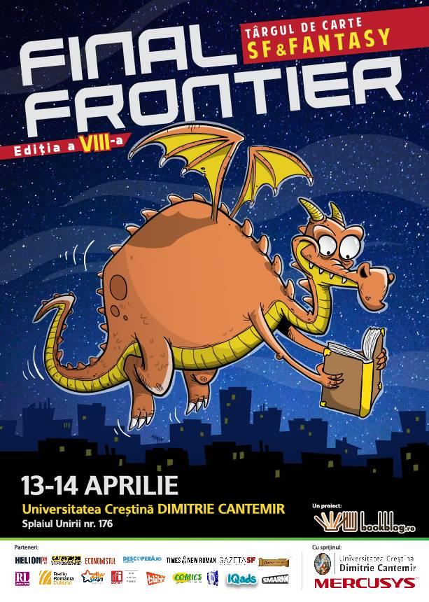 Nici nu știi ce o să citesc la Final Frontier