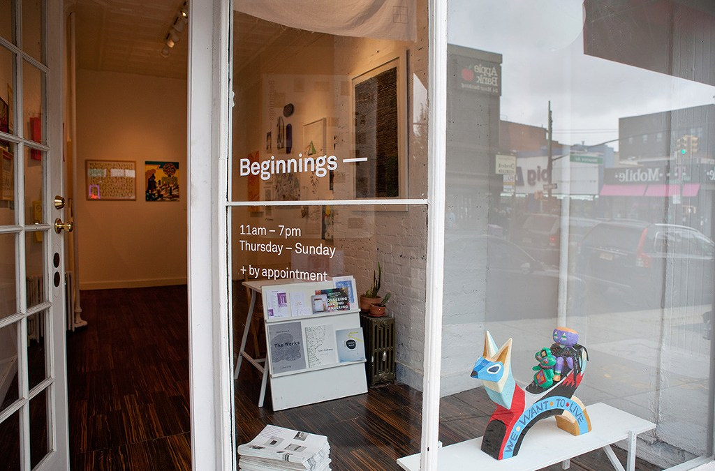 The Beginning Group Exhibit