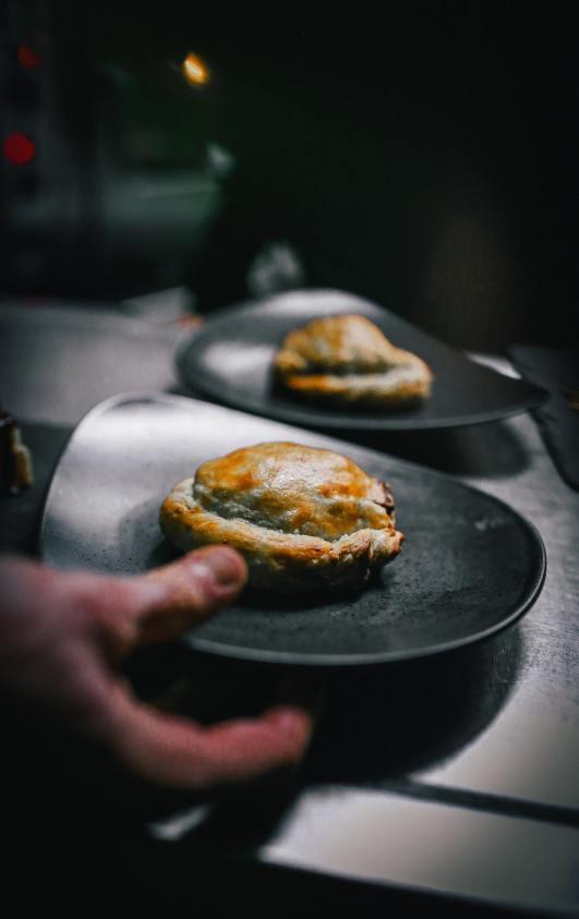 Wellington amb bolets i foie