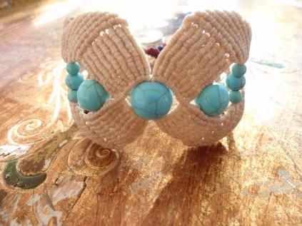 Macramé – Cavandoli bracelet