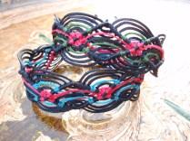 Macramé wave bracelets