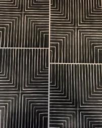 Nello, M. (Feb.2016) Frank Stella inspired pattern, exploring ideas in my own sketchbook.