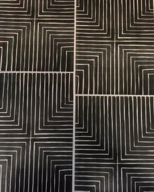 Nello, M. (2016) Frank Stella inspired pattern.