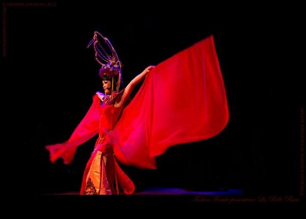 Marianne Cheesecake performs at Fräulein Frauke Presents La Belle Paris @ Nalen (Stockholm, SE)