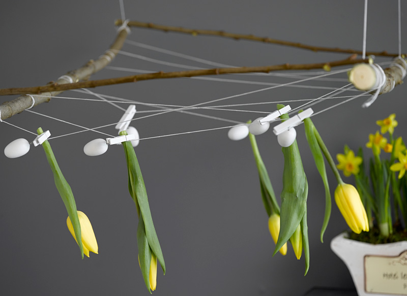 INTERIØRTIPS Påske i gult og natur