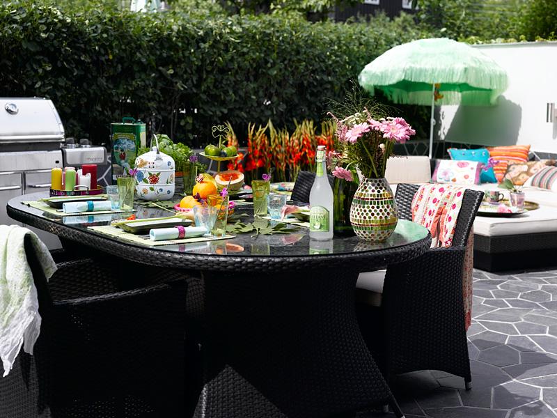 INTERIØRTIPS: Kreativ borddekking av festbord i eksotisk stil