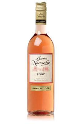 Idemagasinet tipser om alkholfri vin. Rosa og alkoholfri.