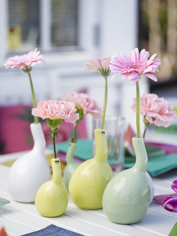 INTERIØRTIPS - blomstrende sommertips hos idemagasinet - blomster i vaser